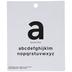 Sans Serif Alphabet Chipboard Letters -1 1/4