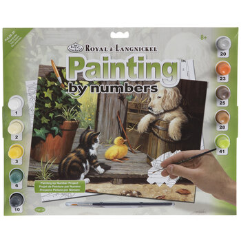 Three Buddies Paint By Number Kit
