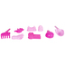 Pink Carriage Sand Toys