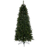 Slim Yuletide Pine Christmas Tree - 7 1/2'