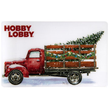 Red Truck Gift Card