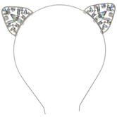 Rhinestone Cat Ears Headband
