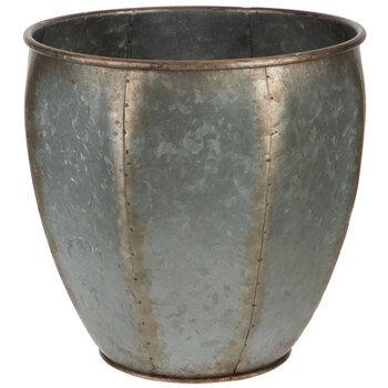 Antique Silver Metal Pot