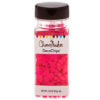 Bright Pink Vanilla DecoChips