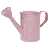 Polka Dot Enamel Watering Can