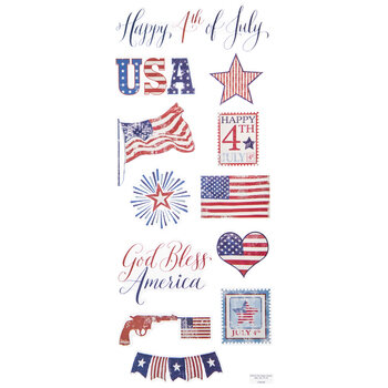 Happy Fourth Of July Stickers