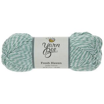 Jade Twist Yarn Bee Fresh Haven Yarn