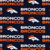 NFL Denver Broncos Cotton Fabric