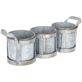 Rustic Metal Planter