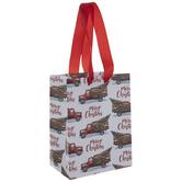 Merry Christmas Truck & Tree Gift Bag