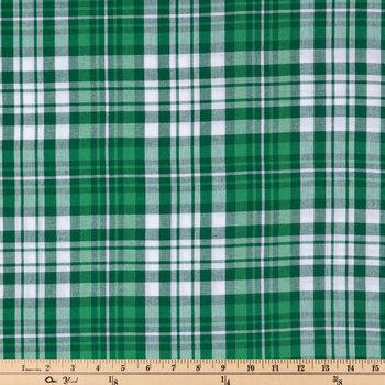 Plaid Cotton Apparel Fabric