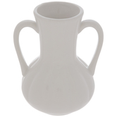 White Fluted Mini Vase