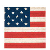Stars & Stripes Napkins - Large