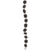 Gray Natural Quartz & Glass Bead Strand