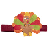 Polka Dot Turkey Headband