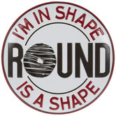 Round Shape Metal Sign