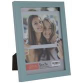 """Light Blue Flat Frame - 5"""" x 7"""""""