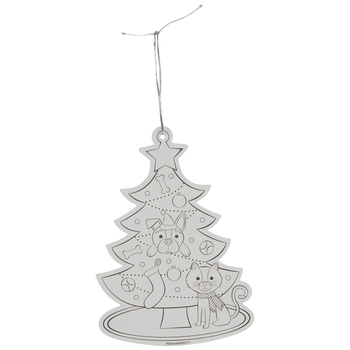 Dog & Cat Christmas Tree Ornaments