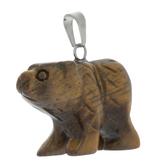 Carved Bear Charm