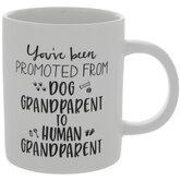 Dog Grandparent To Human Grandparent Mug