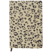 Cream & Gold Leopard Print Journal
