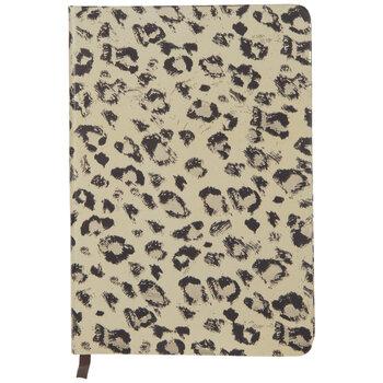 Cream & Gold Leopard Print Journal