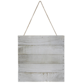 Whitewash Square Pallet Wood Wall Decor