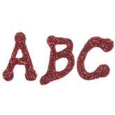 Glitter Alphabet Foam Stickers