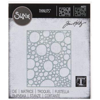 Sizzix Thinlit Bubbling Die