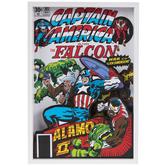 Captain America & The Falcon Wood Wall Decor