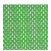 Green & White Stitched Trees Gift Wrap