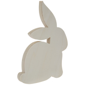 Bunny Wood Shape