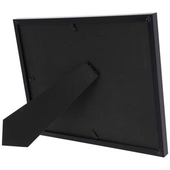Black Flat Double Mat Frame
