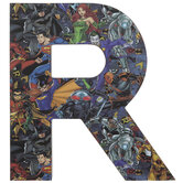 DC Superheroes Letter Wood Wall Decor - R