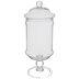 Glass Pedestal Apothecary Jar