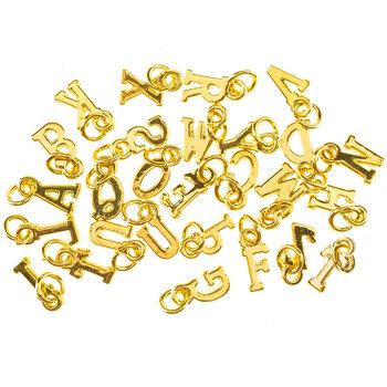 Mini Uppercase Alphabet Charms