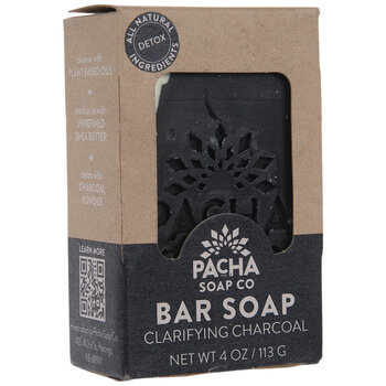 Pacha Clarifying Charcoal Soap Bar