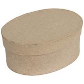 Oval Paper Mache Boxes