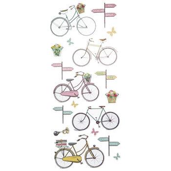 Retro Bike Stickers