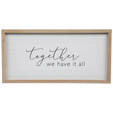 Together Wood Wall Decor