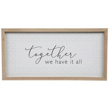 Together Wood Wall Decor
