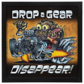 Drop A Gear Lenticular Wood Wall Decor