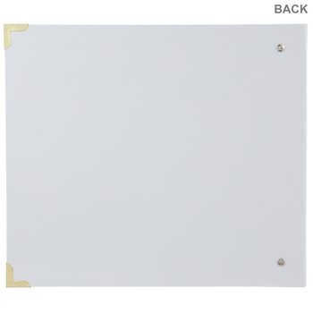 "Memories Camera 3-Ring Scrapbook Album - 12"" x 12"""