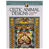 Celtic Animal Designs Coloring Book