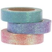 Bright Ombre Glitter Washi Tape