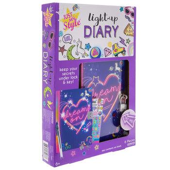 Dream On Light Up Diary