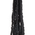 Black Glass Seed Bead Strands