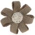 Burlap Flower Napkin Ring