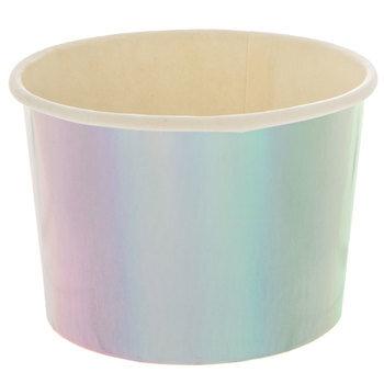 Iridescent Paper Snack Cups