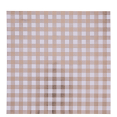 "Rose Gold Foil Buffalo Check Scrapbook Paper - 12"" x 12"""